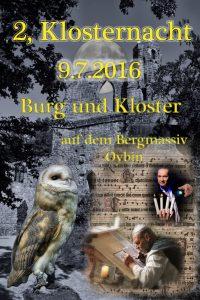 Klosternacht Oybin 2016